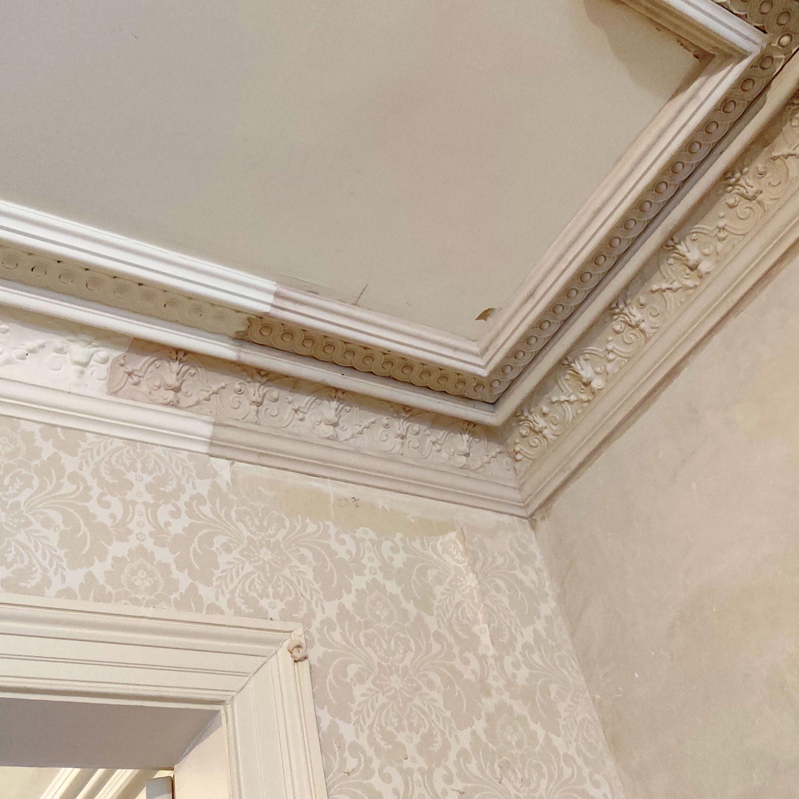 James Heffernan plasterwork restoration